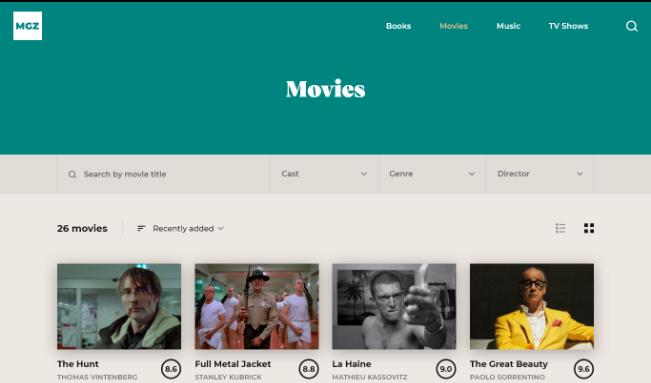 Categories Music screenshot