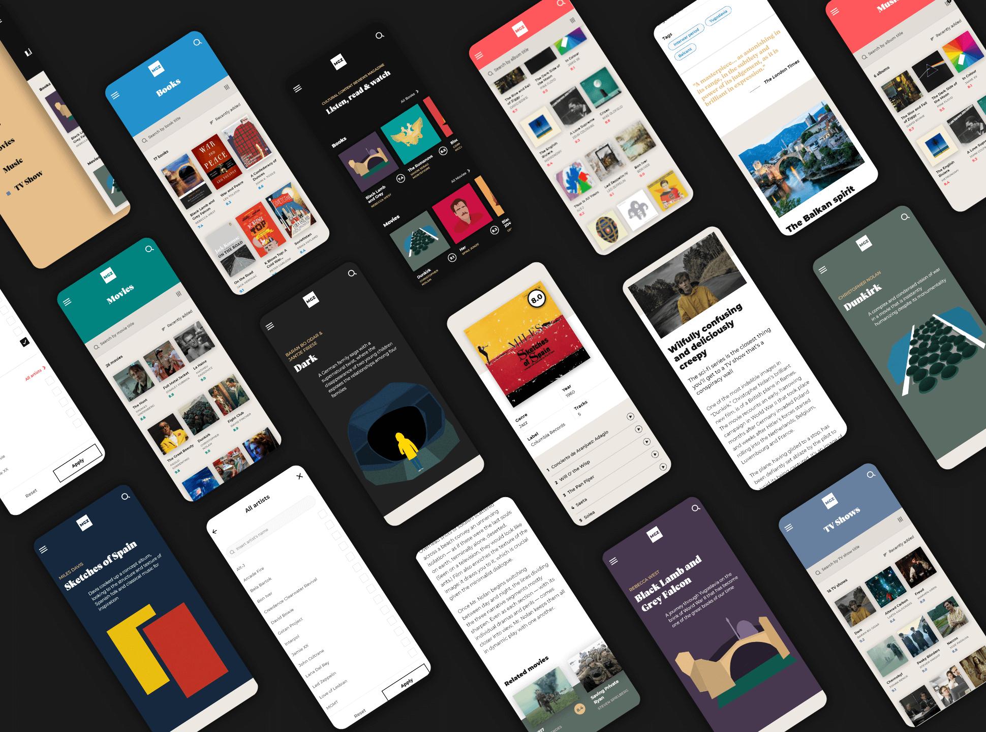 Website mobile version creativity
